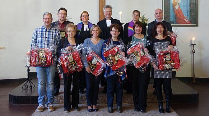Mutig und mit Gottvertrauen voran! | Presbyterinnen und Presbyter wurden in der ev. Kirchengemeinde Mauenheim-Weidenpesch eingeführt