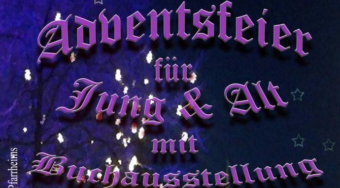 Adventsfeier und Buchausstellung in Hl. Kreuz | 3.12.2017
