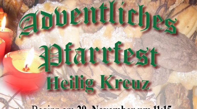 Adventsfeier in Weidenpesch