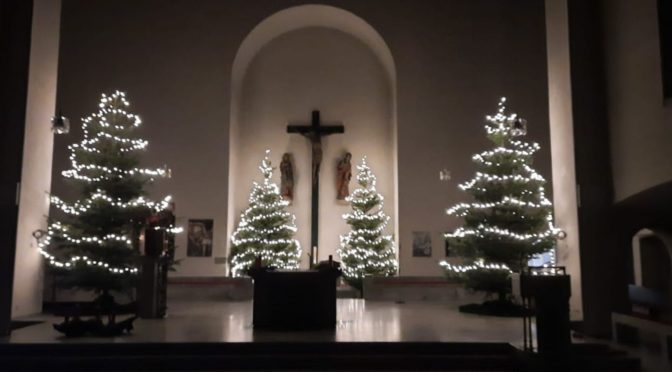Offene Kirchen zur Weihnachtszeit