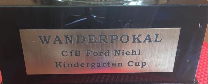 """""""Kreuz Kicker"""" gewinnen Kindergarten Cup"""