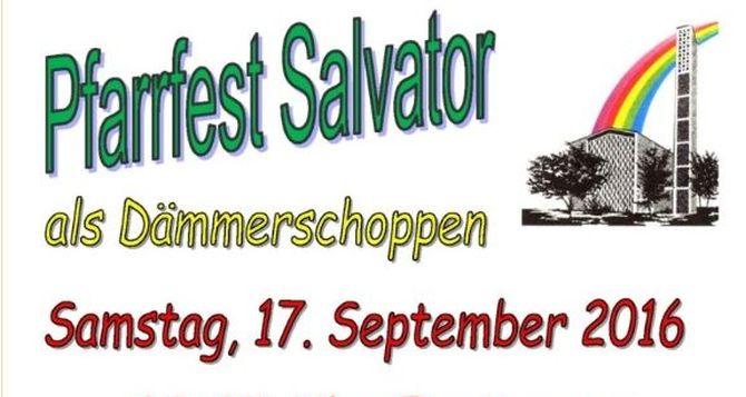 Festmesse und Dämmerschoppen in Salvator