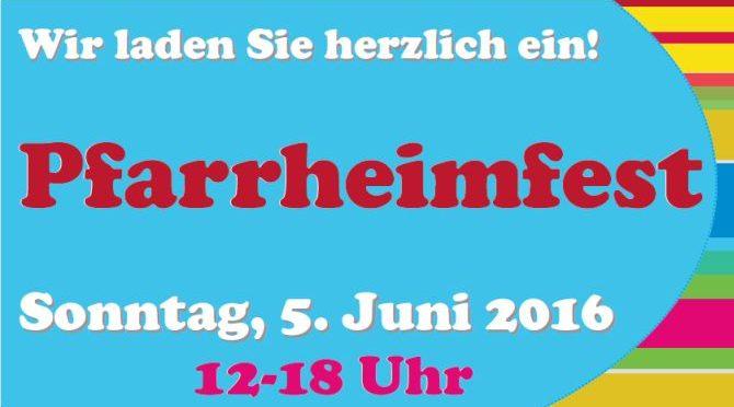 Herzliche Einladung zum Pfarrheimfest in Weidenpesch