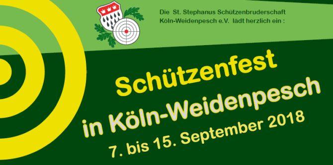 Schützenfest in Weidenpesch