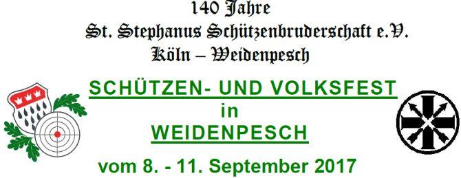Schützenfest rund um das Pfarrheim Hl. Kreuz