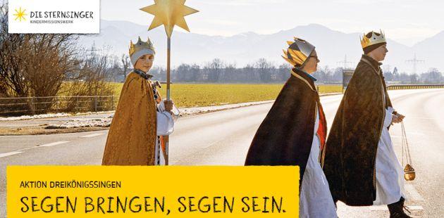 Sternsinger 2016: Segen bringen – Segen sein