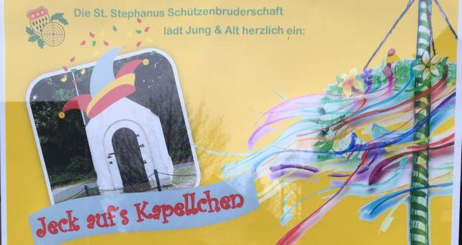 Benefizveranstaltung für das Kapellchen Neusser Straße | 30.4.18