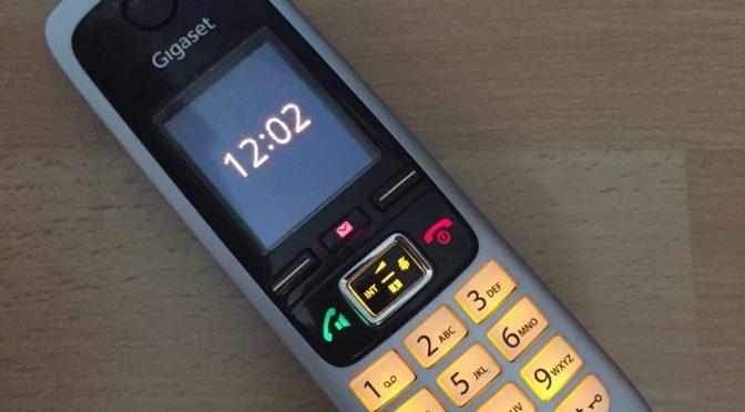 Telefonandacht | Ein neues Angebot